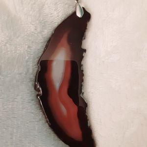 Moon shape pendant.